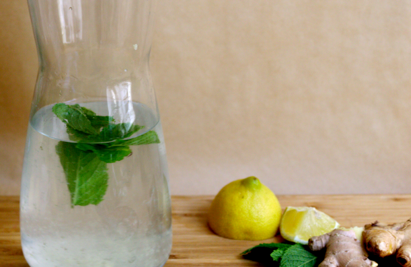Selbstgemachte Ingwer-Limonade